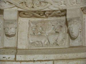 Plassacの彫刻
