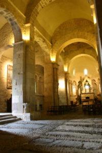 St.Just de Valcabrereの身廊