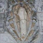 Gensac la PAllueのファサード彫刻
