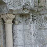 Licheresの扉口彫刻