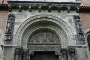 Toulouse / St.Serninの扉口