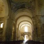 Cellefrouinの身廊