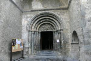 Luz St.Sauveurの扉口
