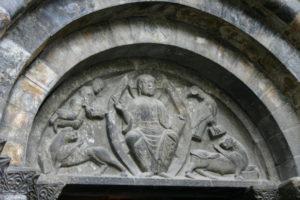 Luz St.Sauveurのタンパン