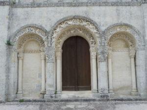 Corme Ecluseの扉口