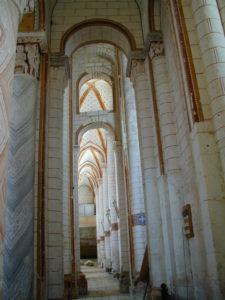 Chauvignyの側廊
