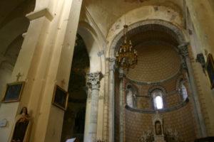 St.Martin d'Unacの内陣