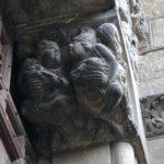 Toulouse / St.Serninの扉口彫刻
