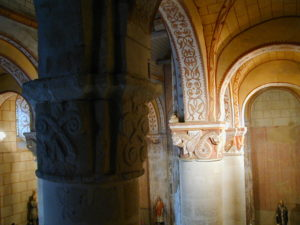 Civauxの柱頭