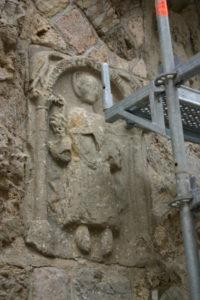 Marcilhacの扉口彫刻