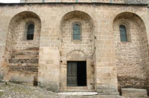 Castelnau-Pegayrolsの扉口