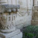 Angoulemeの柱頭彫刻