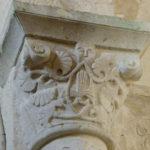 Cellefrouinの柱頭彫刻
