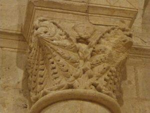 Macquevilleの柱頭彫刻
