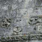 Perignacのファサード彫刻