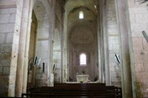 Castelnau-Pegayrolsの身廊