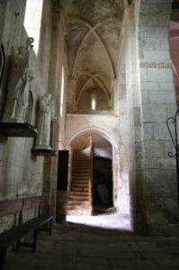 Castelnau-Pegayrolsの側廊