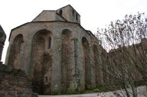Castelnau-Pegayrolsの後背部