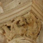Montmoreau St.Cybardの柱頭彫刻