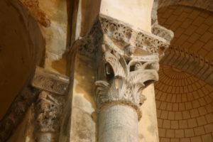 St.Martin d'Unacの柱頭彫刻