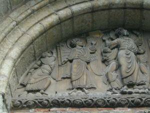 Toulouse / St.Serninのタンパン
