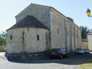St.Colombeの後背部