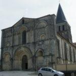St.Amant de Boixeの教会堂正面