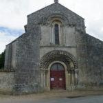 La Gripperie St.Symphorienの教会堂正面