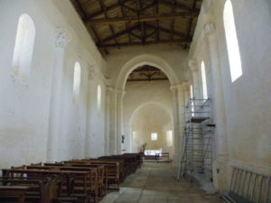 St.Colombeの身廊