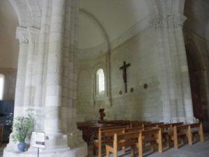 Talmont sur Girondeの内陣