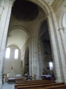 St.Amant de Boixeの交叉部