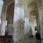 St.Amant de Boixeの側廊