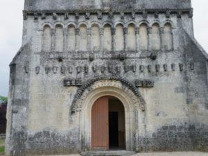 St.Quantin de Rancanneのファサード
