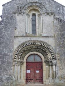 La Gripperie St.Symphorienの扉口