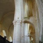 Nouaille-Maupertuisの側廊