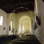 St.Quantin de Rancanneの身廊