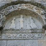 St.Amant de Boixeの壁面彫刻