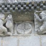 St.Fortのファサード彫刻