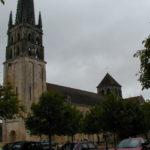 St.Savin sur Gartempeの塔