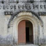St.Quantin de Rancanneの扉口