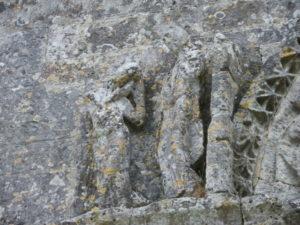 La Gripperie St.Symphorienの彫刻