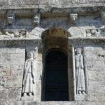 St.Colombeのファサード彫刻