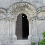 Talmont sur Girondeの扉口