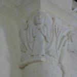 St.Colombeの柱頭彫刻