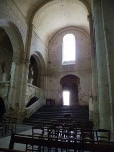St.Amant de Boixeの玄関間