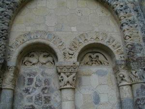Villesalemの壁面彫刻