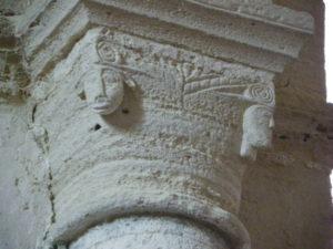 St.Amant de Boixeの柱頭彫刻