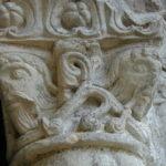 Villesalemの柱頭彫刻