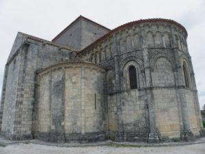 Talmont sur Girondeの後背部