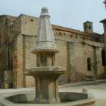 Quaranteの教会堂側面